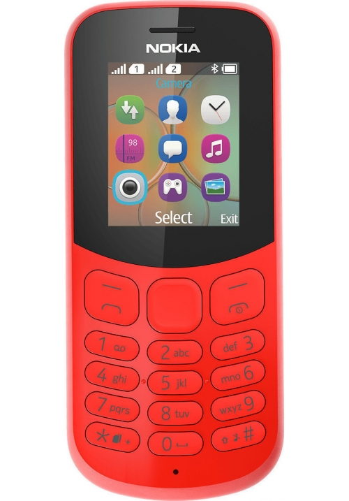 NOKIA 130 2017 DUAL RED GR