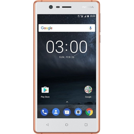 NOKIA 3 DUAL COPPER WHITE EU