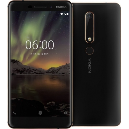 NOKIA 6 2018 32GB DUAL BLACK EU