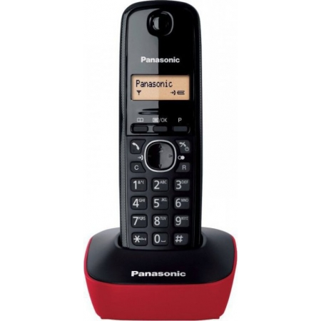 PANASONIC KX-TG1611 RED BLACK E...
