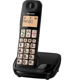 PANASONIC KX-TGE110 (ENGLISH MENU) BLACK EU