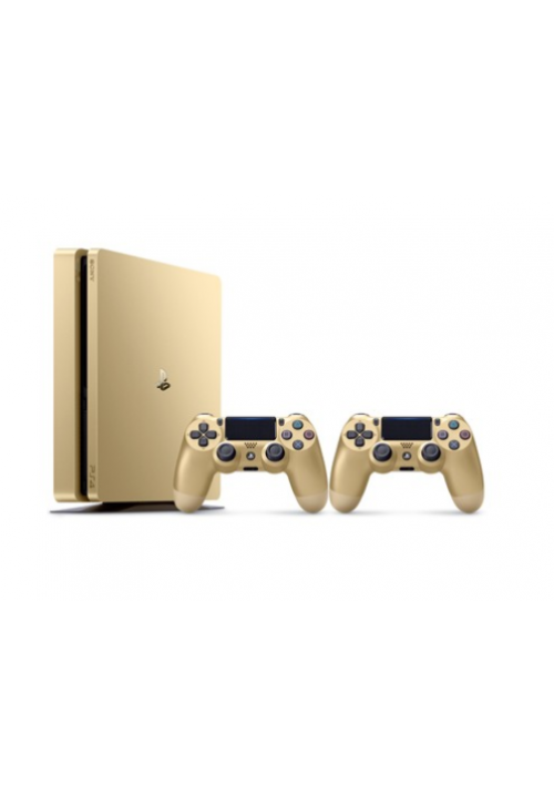 SONY PLAYSTATION 4 SLIM 500GB D CHASSIS GOLD+2ND DUALSHOCK (ΜΕ ΑΝΤΑΠΤΟΡΑ)