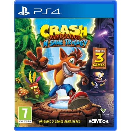 PS4 CRASH BANDICOOT N. SANE TRI...