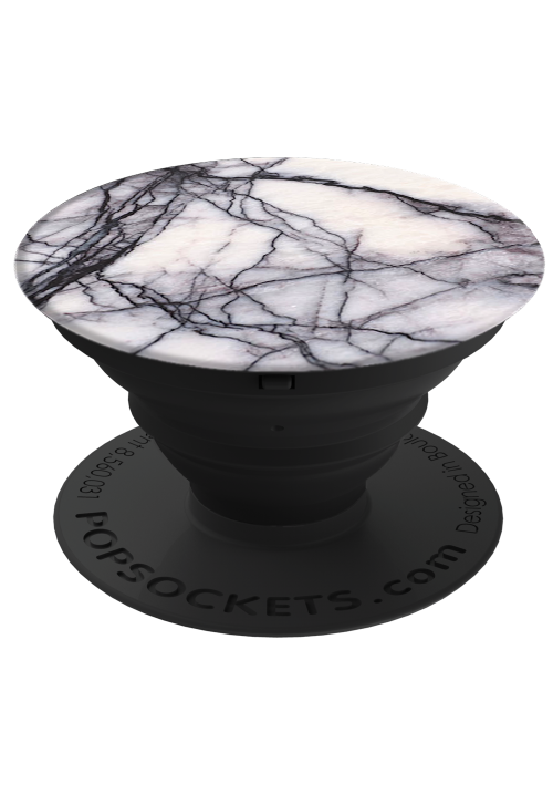 POP SOCKETS WHITE MARBLE