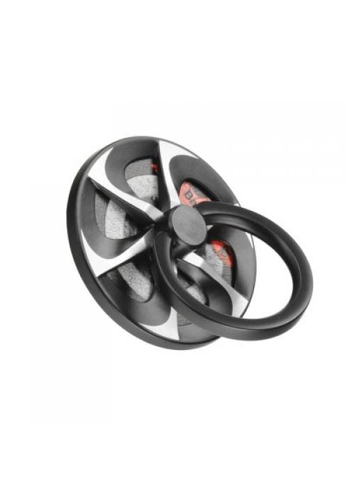 Δαχτυλίδι Συγκράτησης Baseus Whell Ring Bracket Black-Silver