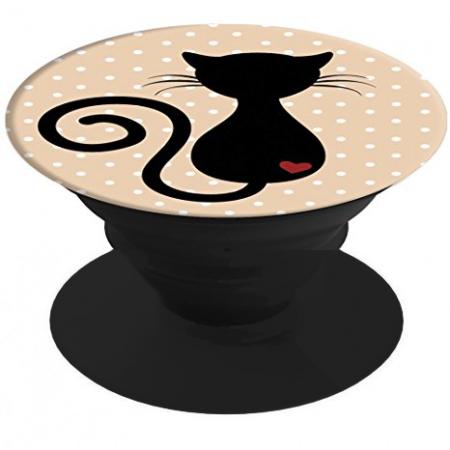 POP STAND BLACK CAT