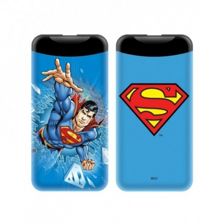 POWER BANK SUPERMAN 6000mAh 2.1...