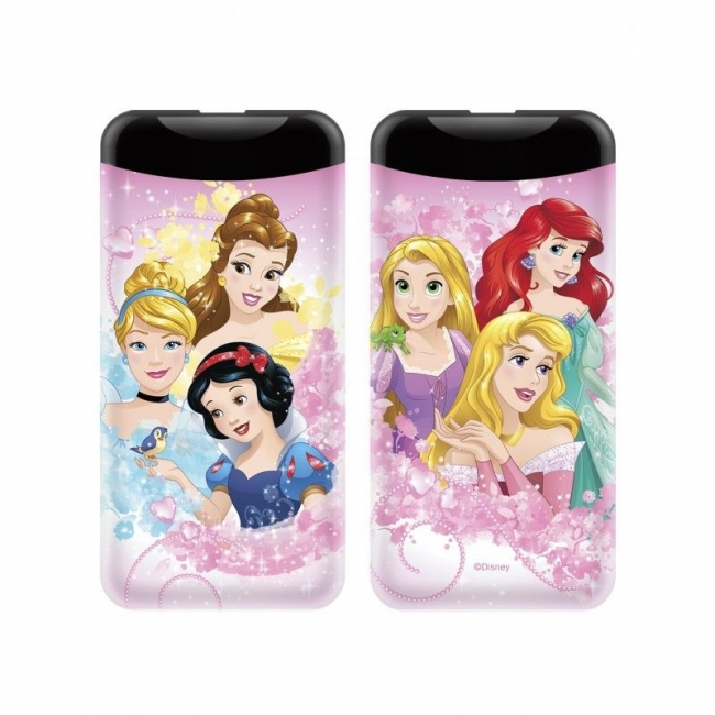 POWER BANK PRINCESS 6000mAh 2.1A MULTICOLORED (001)