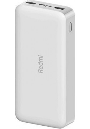 POWER BANK XIAOMI REDMI 20000mAh 18W FAST CHARGE WHITE EU VXN4285GL