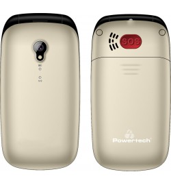 POWERTECH MOBILE PHONE SENTRY GLOBAL DUAL GOLD PTM-20 EU