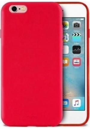Θηκη για Apple Iphone 6/6S/7/8 Puro Silicone Red IPC747CICONRED