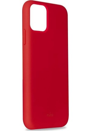 ΘΗΚΗ ΓΙΑ APPLE IPHONE 12 PRO MAX PURO ICON SILICONE RED IPC1261ICONRED