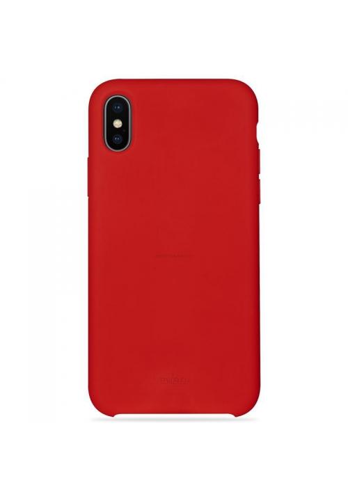 Θήκη για Apple Iphone Xs Max Puro Silicone Red IPCX65ICONRED