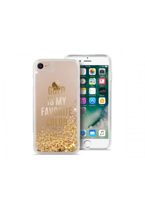 Θηκη για Apple Iphone 6/6S/7/8 Puro Aqua Gold IPC747AQUA3GOLD