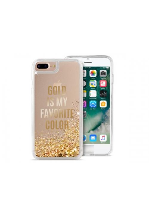 Θηκη για Apple Iphone 6/6S/7/8 Plus Puro Aqua Gold IPC755AQUA3GOLD