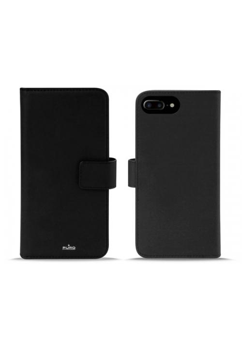 Θηκη για Apple Iphone 6/6S/7/8 Plus Puro Book Black IPC755BOOKC3BLK
