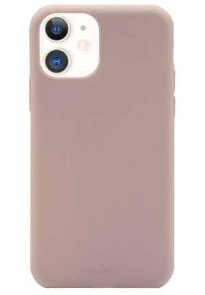 ΘΗΚΗ PURO IPHONE 12 BIODEGRADABLE ROSE IPC1254ECO1ROSE