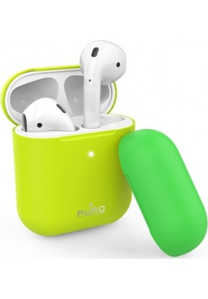 Θηκη για Apple Airpods Puro Icon Fluo Yellow APCASE2FLUOYEL