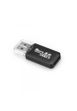 MEMORY CARD READER MICRO-SD 2.0 BLACK