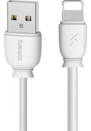 CABLE REMAX RC-134 IPHONE LIGHTNING 8-PIN 1m WHITE