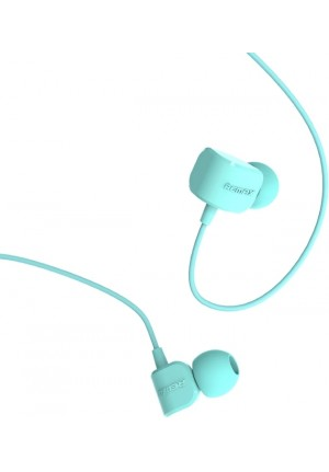 HANDSFREE REMAX RM-502 UNIVERSAL CANDY IN-EAR HEADPHONE MINT