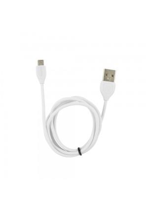 Καλώδιο Φόρτισης Cable Remax RC-050m Micro USB White (6954851258698)