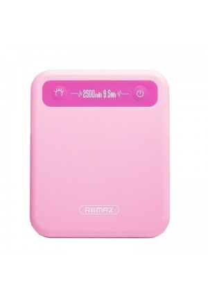 POWER BANK REMAX PINO 2500mAh RPP-51 PINK