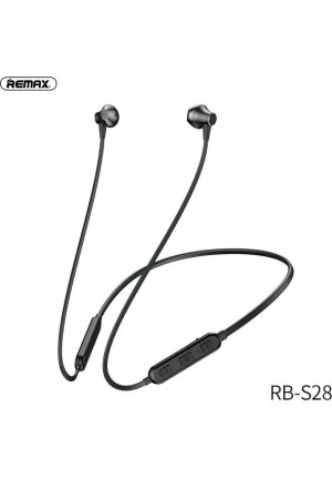 BLUETOOTH EARPHONES REMAX RB-S28 BLACK
