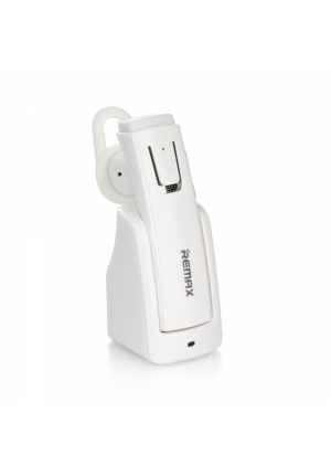 BLUETOOTH REMAX RB-T6C WITH CHARGING DOCK WHITE