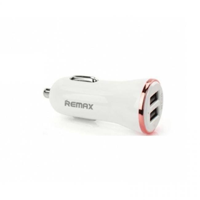 Φορτιστής Αυτοκινήτου Remax Dolfin RCC206 2xUsb 2.4A Rose Gold