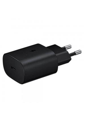 SAMSUNG USB TYPE-C WALL ADAPTER BLACK HEAD ONLY (EP-TA800EBE) BULK