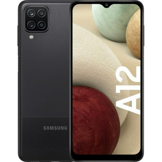 SAMSUNG GALAXY A12 A127F 64GB 4GB NACHO DUAL BLACK EU SM-A127F/DSN