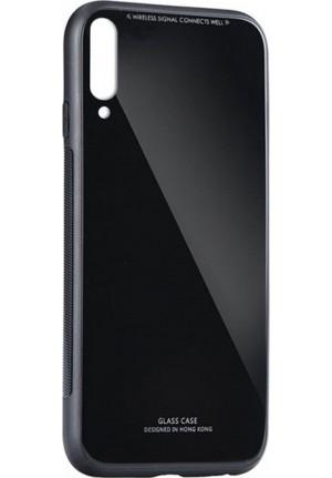 ΘΗΚΗ ΓΙΑ SAMSUNG GALAXY A20e FORCELL GLASS BLACK