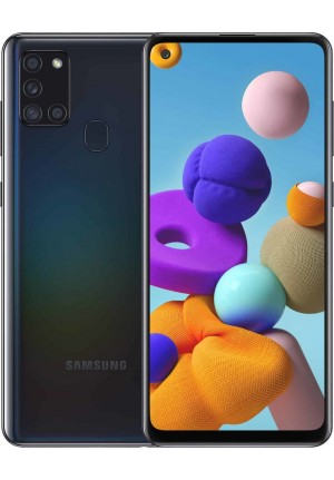 SAMSUNG GALAXY A21S A217 32GB DUAL BLACK EU
