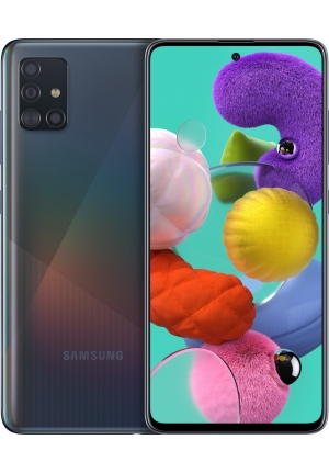 SAMSUNG GALAXY A51 A515 128GB DUAL BLACK EU