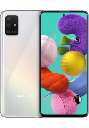 SAMSUNG GALAXY A51 A515 128GB DUAL WHITE EU