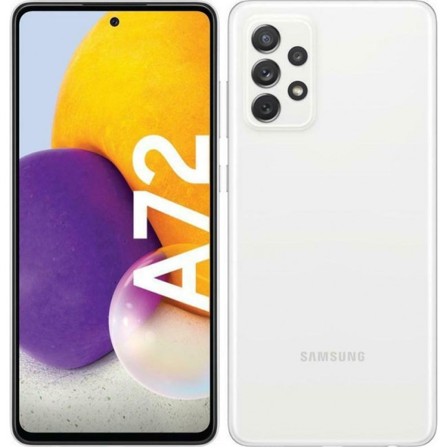 SAMSUNG GALAXY A72 A725 128GB 6GB DUAL WHITE EU