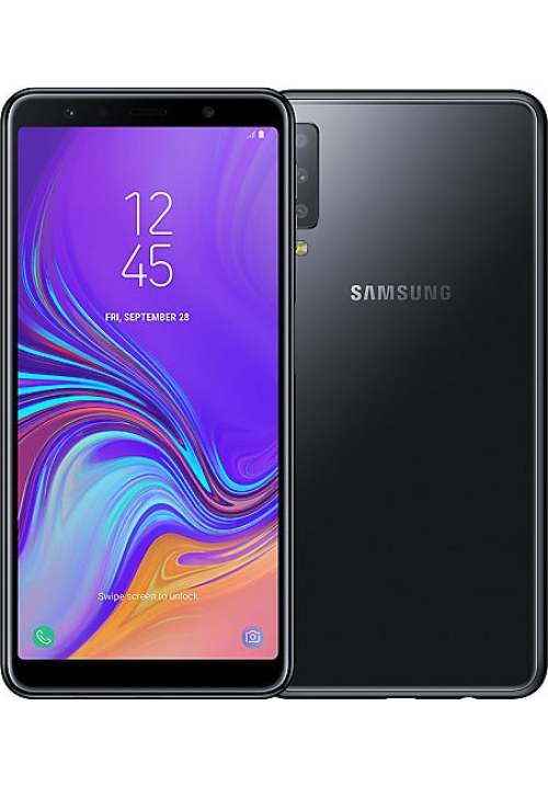 SAMSUNG GALAXY A7 2018 A750 64GB DUAL BLACK EU