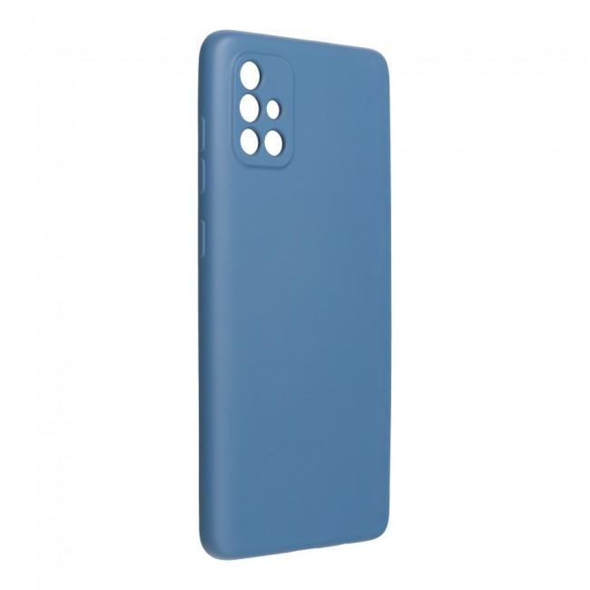 ΘΗΚΗ ΓΙΑ SAMSUNG GALAXY A72 4G/5G FORCELL SILICONE LITE BLUE