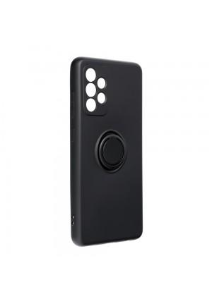 ΘΗΚΗ ΓΙΑ SAMSUNG GALAXY A72 4G FORCELL SILICONE RING BLACK