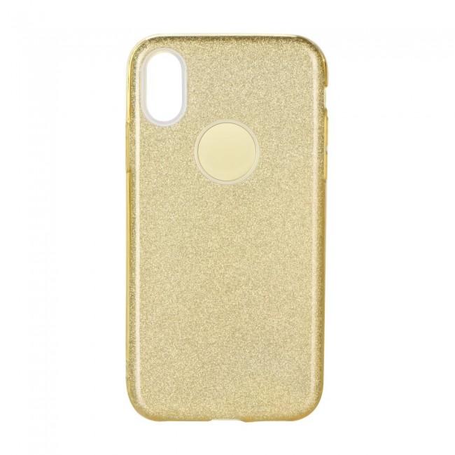 ΘΗΚΗ ΓΙΑ  SAMSUNG GALAXY A41 FORCELL SHINING GOLD