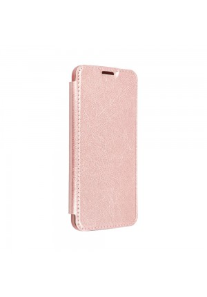 ΘΗΚΗ ΓΙΑ HUAWEI P30 PRO FORCELL ELECTRO BOOK ROSE GOLD