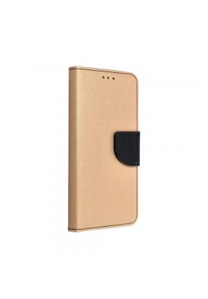 ΘΗΚΗ ΓΙΑ SAMSUNG GALAXY S20 FE 4G/5G FANCY BOOK CASE GOLD/BLACK