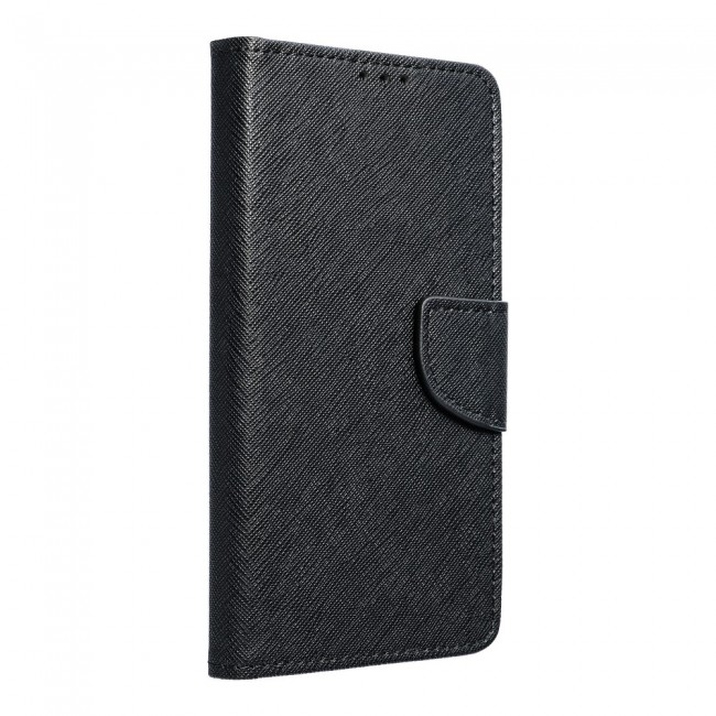 ΘΗΚΗ ΓΙΑ SAMSUNG GALAXY A41 FANCY BOOK CASE BLACK