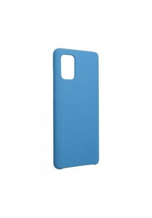 ΘΗΚΗ ΓΙΑ SAMSUNG GALAXY A71 FORCELL SILICONE DARK BLUE