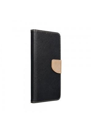 ΘΗΚΗ ΓΙΑ SAMSUNG GALAXY A42 FANCY BOOK CASE BLACK-GOLD