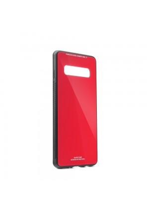 ΘΗΚΗ ΓΙΑ SAMSUNG GALAXY S20 FE FORCELL GLASS RED