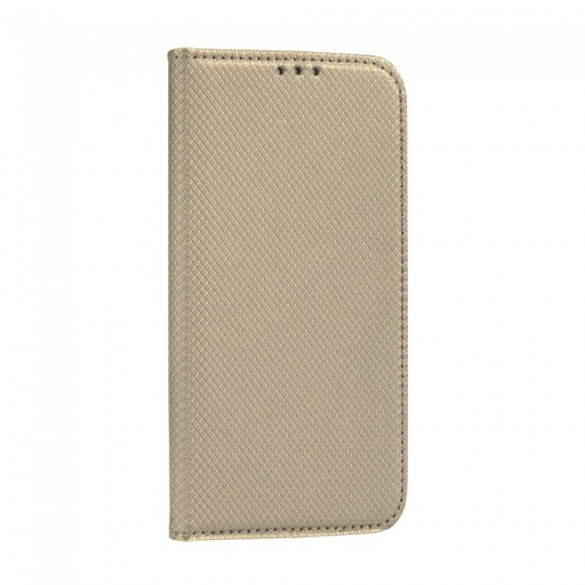 ΘΗΚΗ ΓΙΑ HUAWEI P30 LITE SMART BOOK CASE GOLD