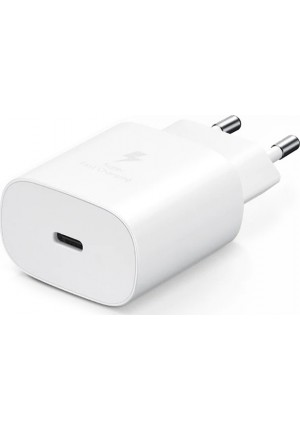 CHARGER ORIGINAL SAMSUNG EP-TA800NWEGEU 25W HEAD ONLY WHITE BLISTER