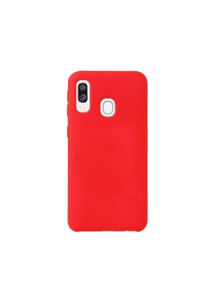 Θήκη για Samsung Galaxy A40 Tpu Liquid Silicone Red